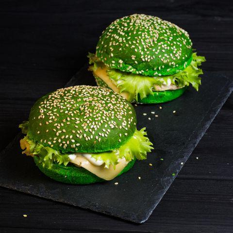Matcha-Burger