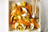 Gemüse-Antipasti mit Büffel-Mozzarella