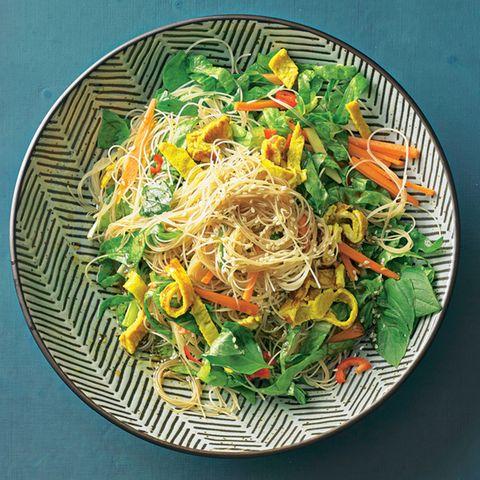 Vegetarischer Glasnudelsalat