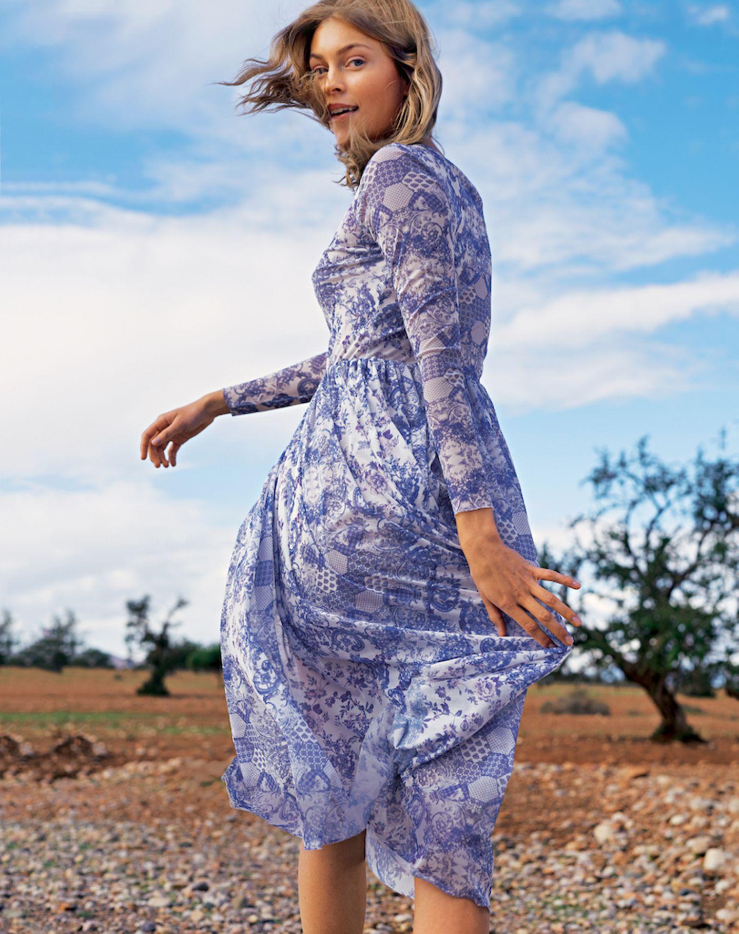 maxikleider: diese modelle tragen wir 2019 | brigitte.de