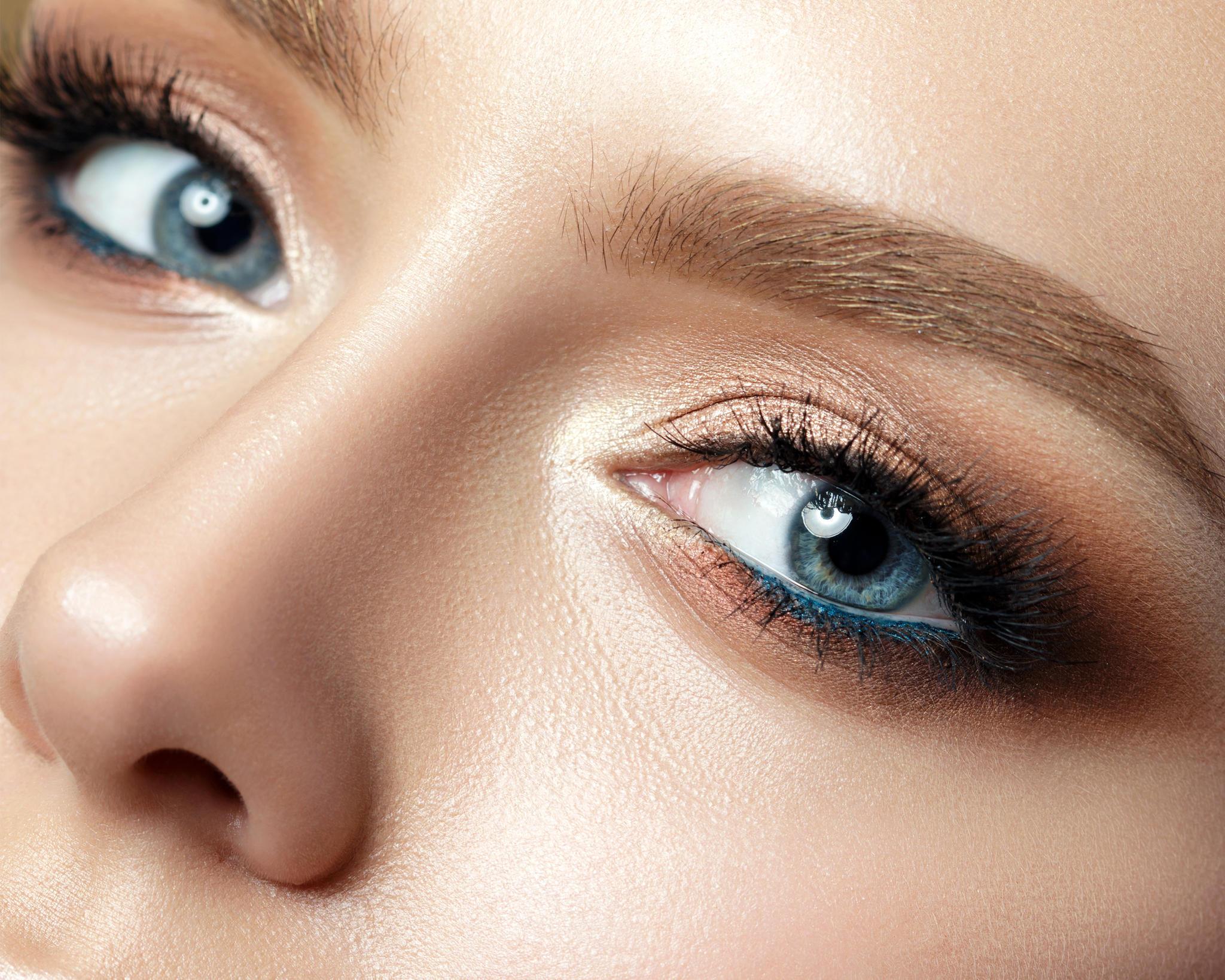 Blaue Augen Schminken Tipps Und Tricks Brigittede