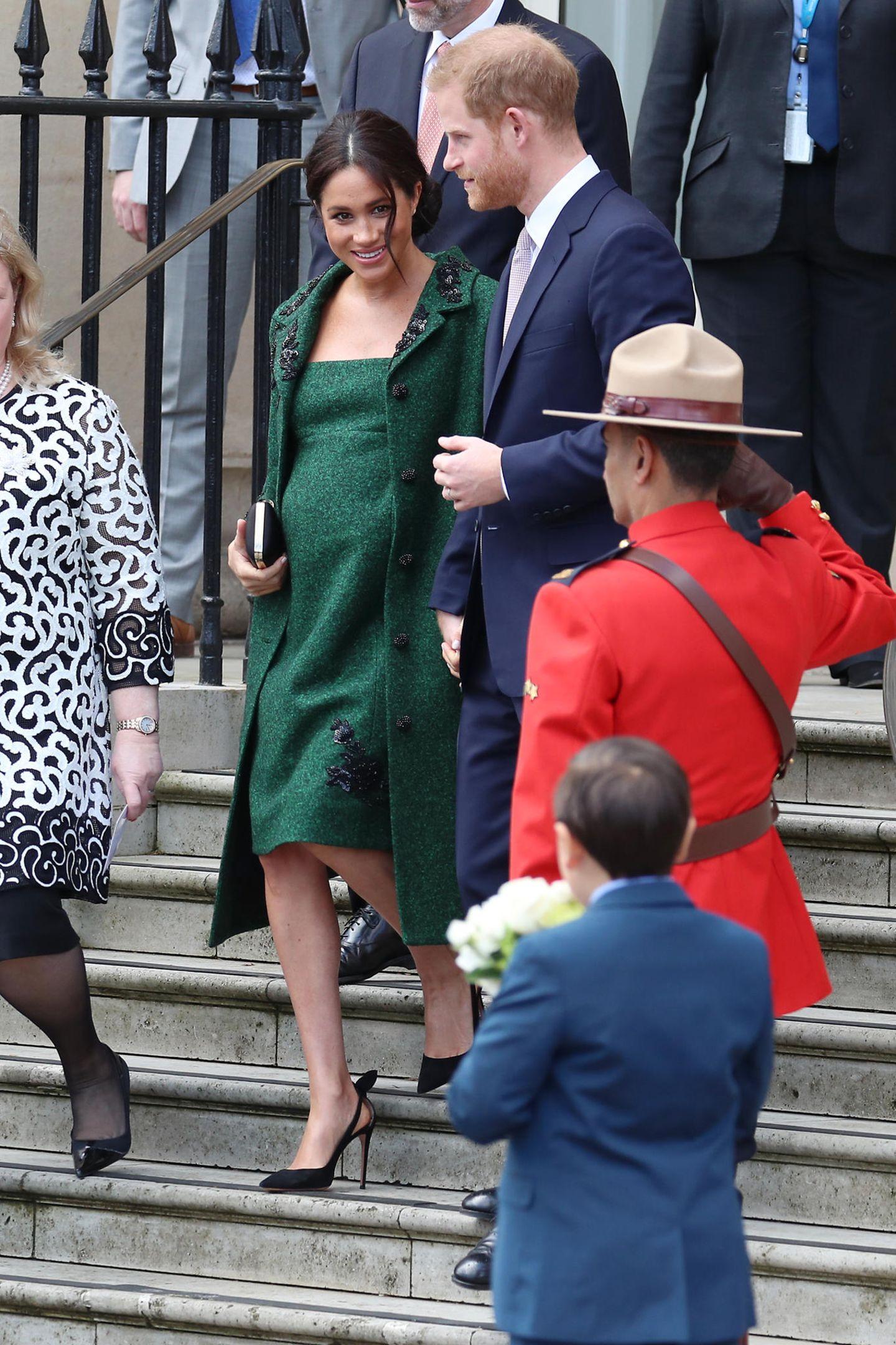 Meghan Markle: Meghan Markle und Prinz Harry in London