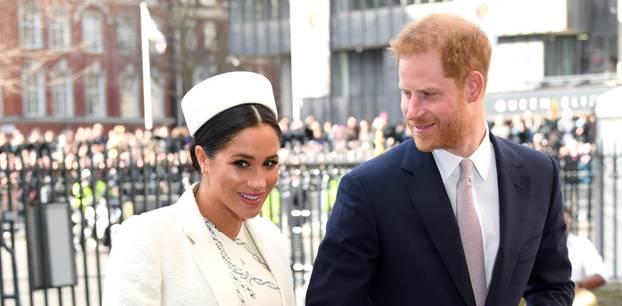 Meghan Markle: Meghan und Harry in London