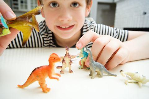 Kleine Dino-Fans sind besonders intelligent