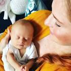 Jessica Young Egan und Baby Gwendolyn
