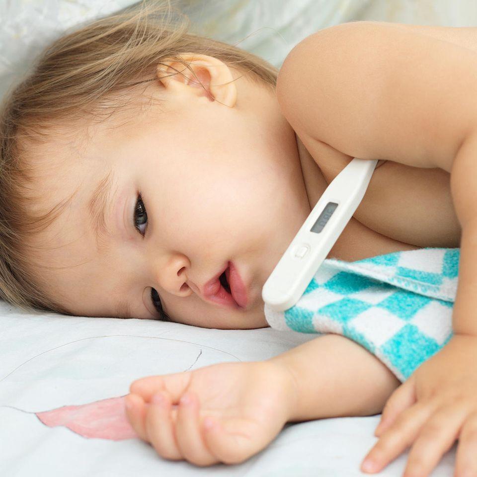 RS-Virus: Krankes Baby