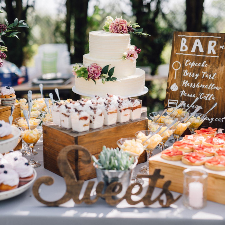 Candy Bar Hochzeit: Ideen und Tipps   BRIGITTE.de
