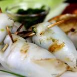 Tintenfisch grillen: Gegrillte Tintenfischtuben