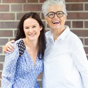 Podcast: Glücklich sein ist eine Entscheidung – Gastgeberinnen Doris Brückner und Greta Silver