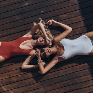 Figurtyp: Frauen mit Badeanzug