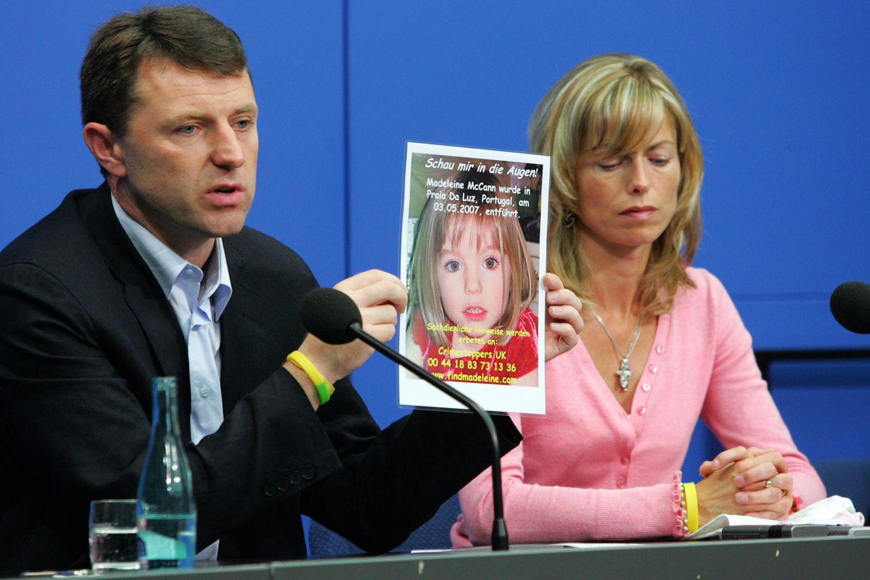 Madeleine McCann: Eltern zeigen Fahndungsplakat