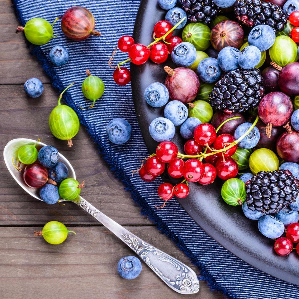 Blutdrucksenker: Beeren