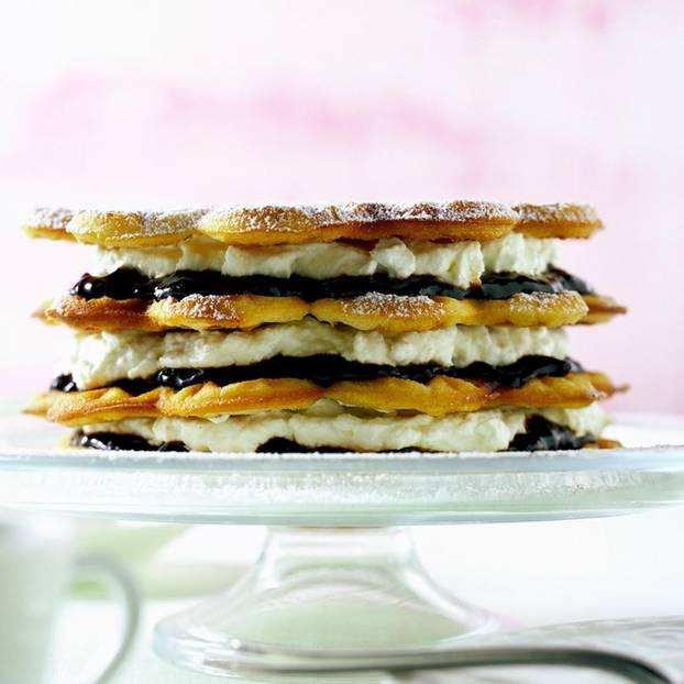 Friesen-Waffel-Torte