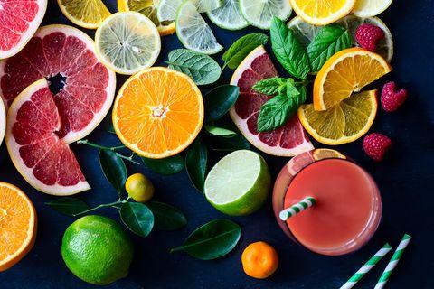 Antioxidantien: Verschiedenes Obst