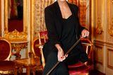 """Vanessa Fuchs beim exklusiven """"High Tea & Play""""-Besuch im Casino Baden-Baden."""