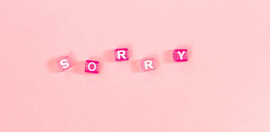 entschuldigung sorry es tut mir leid