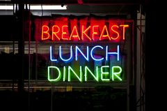New York Diät: Restaurant in New York