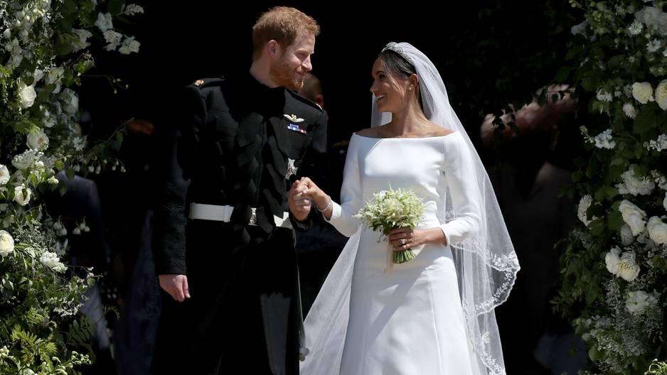 Herzogin Meghan und Prinz Harry: So schön war ihre Hochzeit