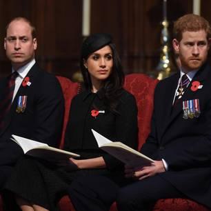 Meghan musste zwischen William und  Harry wählen