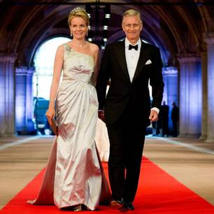 König Philippe und Königin Mathilde von Belgien