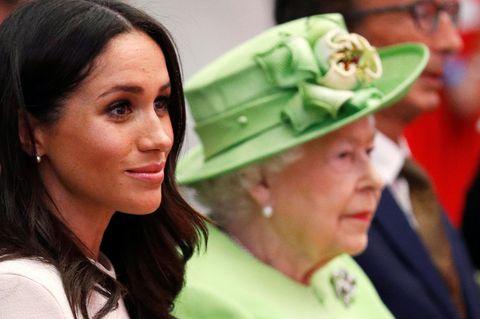Meghan: DAS hat die Queen ihr jetzt endgültig verboten!