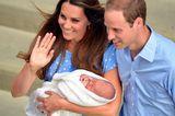 Prinz William & Herzogin Kate mit Prinz George