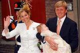 Königin Máxima & König Willem-Alexander mit Prinzessin Catharina-Amalia