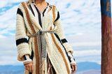 Häkelideen und Strickideen für den Sommer: Lange Jacke