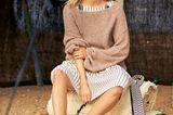 Häkelideen und Strickideen für den Sommer: Oversize-Pullover