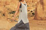 Häkelideen und Strickideen für den Sommer: Minikleid