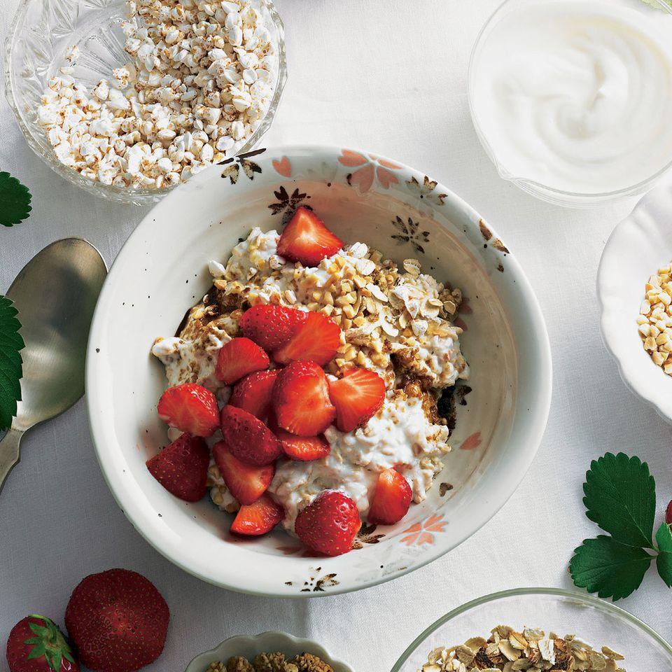 Erdbeer-Müsli