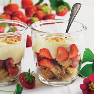 Erbeer-Shortbread-Trifle