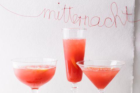 Erdbeer-Campari-Drink
