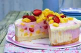 Erdbeer-Mango-Torte