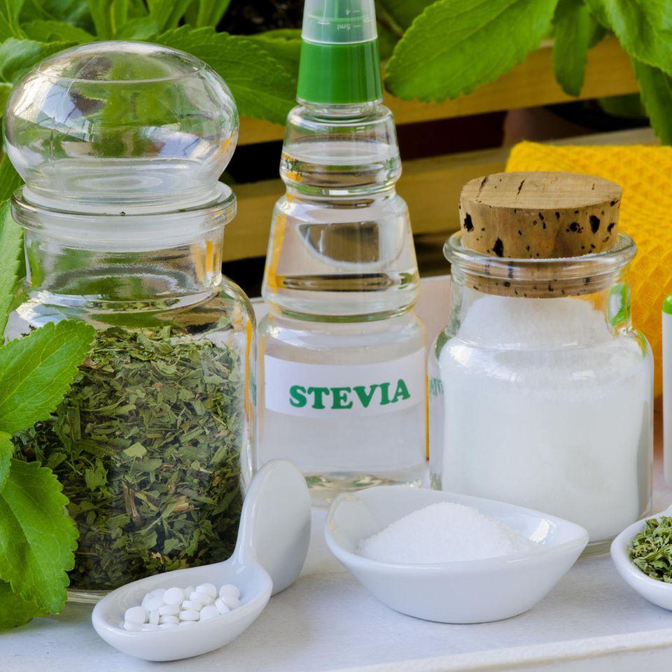 Stevia-Produkte