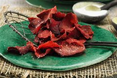 Rote-Bete-Chips