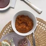 Paprika-Pumpernickel-Dip