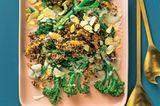 Wilder Brokkoli mit Quinoa