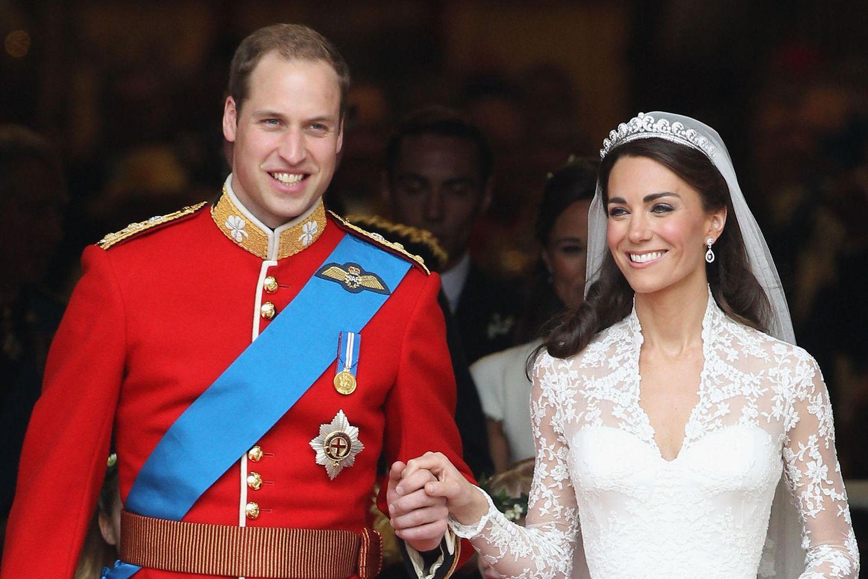 Hochzeitsbild von Prinz William und Herzogin Kate