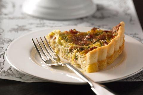 Quiche Lorraine - Lothringischer Speckkuchen