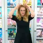 Barbara über haarreifen