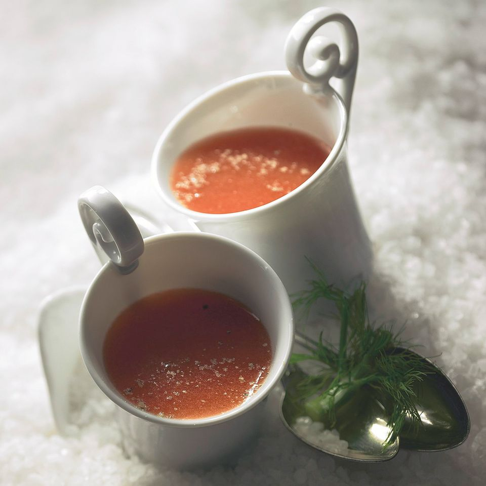 Eisgekühlte Gazpacho