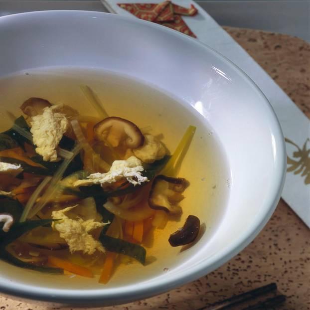 Japanische Suppe - Osuimono