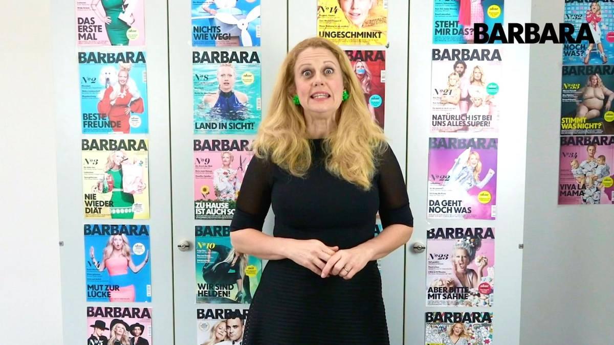 Barbara, was sagst du zum Thema: Milchschaum?
