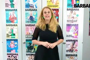 Barbara über milchschaum