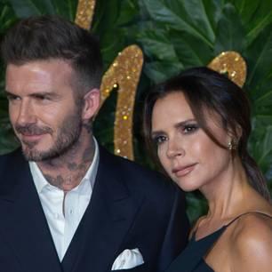 Seltener Schnappschuss: David Beckham zeigt Victoria ungeschminkt!