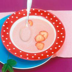 Erdbeer-Pfirsich-Suppe
