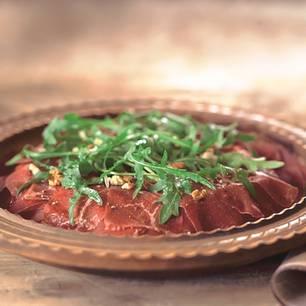 Carpaccio vom Bündner Fleisch