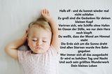 Schlaflieder: kleines Mädchen schläft
