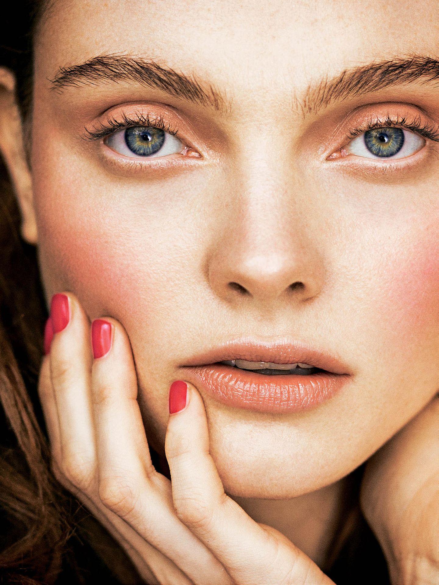 Make-up Trends im Frühling 2019: Rosa